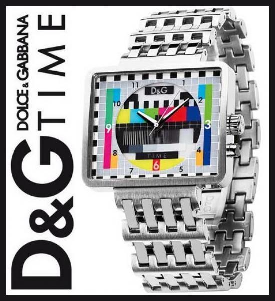 separation shoes 4f220 0ea6a Il coloratissimo monoscopio RAI sull'orologio D&G Medicine ...