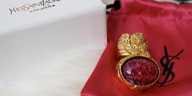 ysl,san valentino,festa,anello arty ring,ring,ysl arty ring,